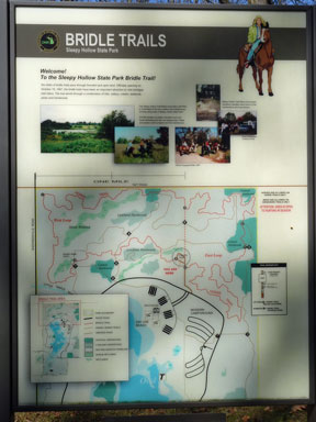 Sleepy Hollow State Park Trail Map