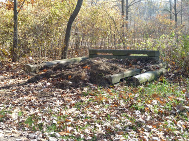 Sleepy Hollow State Park Manure Bunker