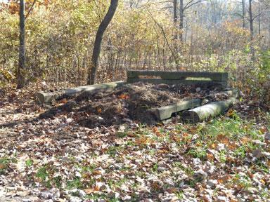 Sleepy Hollow State Park Manure Bunker