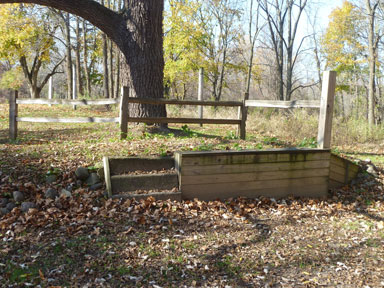 Sleepy Hollow State Park Assisted Mounting Ramp