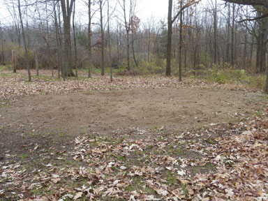 Sleepy Hollow State Park sand roll pit for horses.