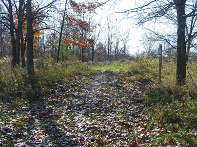 Sleepy Hollow State Park entrance to South Loop