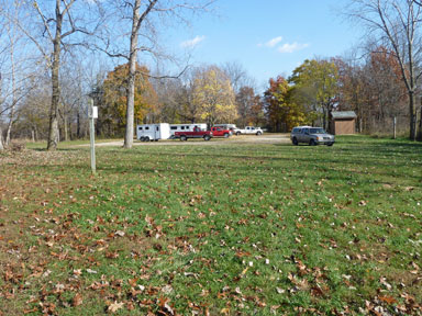 Sleepy Hollow State Park Horseman's Staging Area-West Side